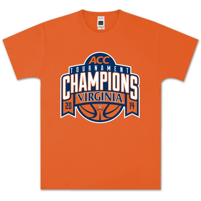 UVA 2014 ACC Tournament Champions Banner T-Shirt