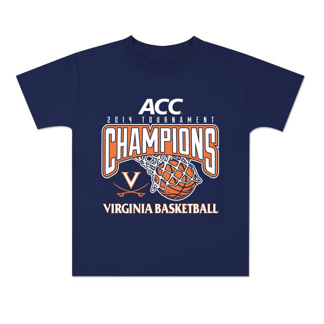 UVA 2014 ACC Tournament Champions Youth T-Shirt