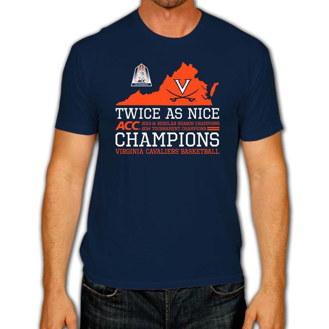 UVA 2014 ACC Twice as Nice T-Shirt