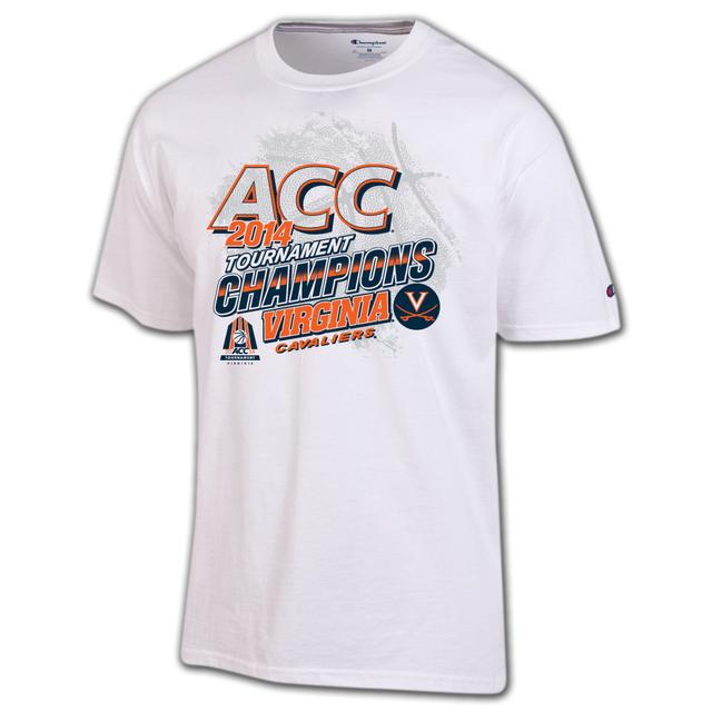 UVA 2014 ACC Tournament Champions Official Locker Room T-Shirt