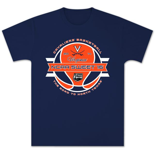 UVA 2014 Sweet 16 Ball T-Shirt