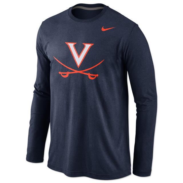 UVA Long Sleeve Tri-Blend Tee