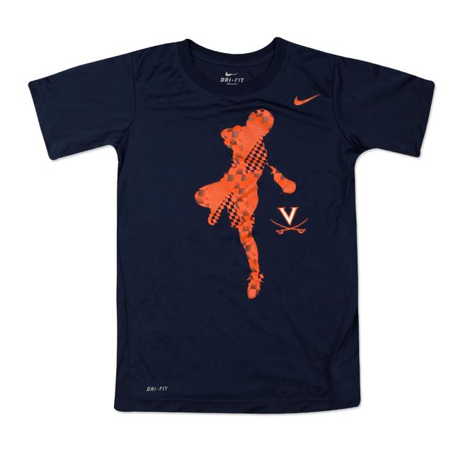 UVA Cavaliers Lacrosse Youth T-shirt