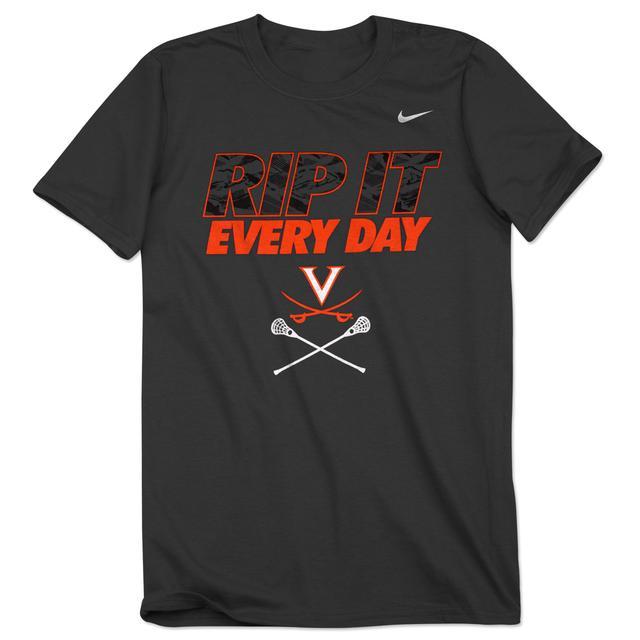 UVA NIKE Lacrosse Rip It Tee