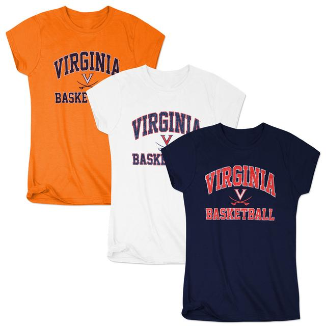 UVA Ladies Arch Saber Basketball T-Shirt