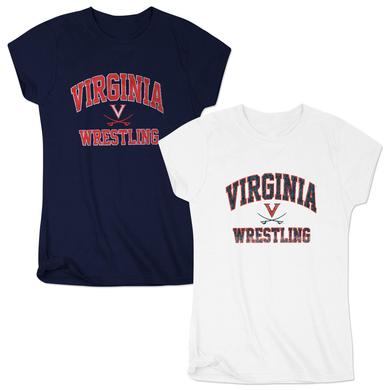 UVA Ladies Arch Saber Wrestling T-Shirt