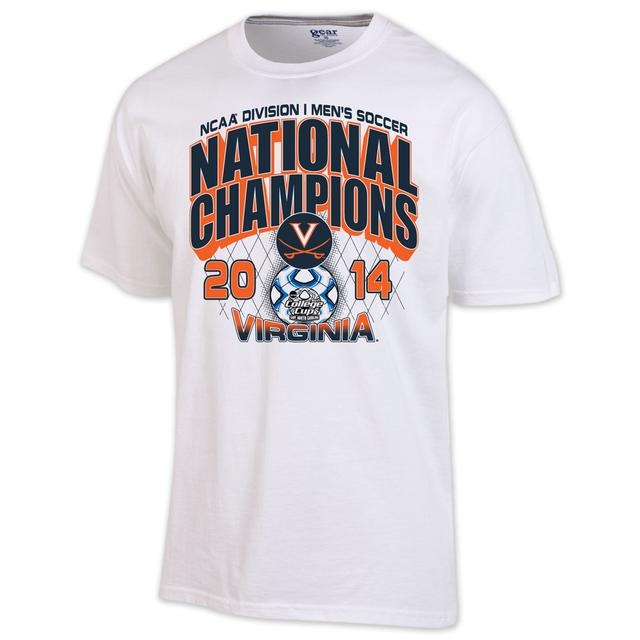 UVA 2014 Men's Soccer NCAA Champions Locker Room T-Shirt