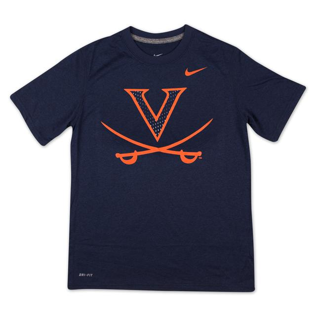 UVA NIKE Youth Cotton Travel Tee