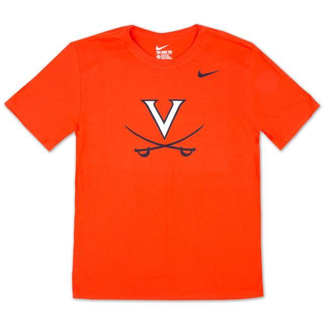 UVA Nike Cotton Logo T-Shirt