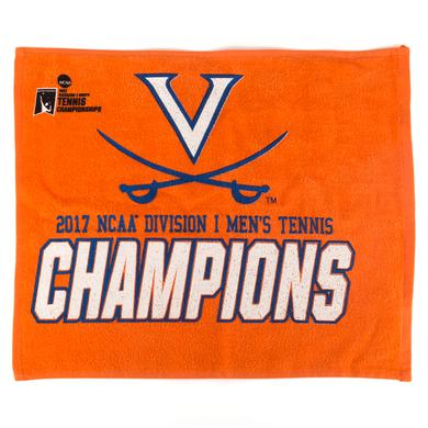 UVA Athletics University of Virginia 2017 NCAA Men's Tennis Champions Towel