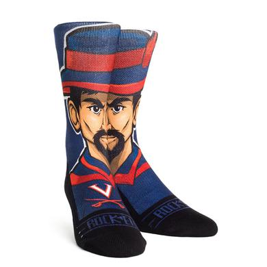 UVA Athletics University of Virginia Cavaliers 'Cav-Man' Adult Socks