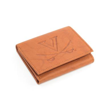 UVA Athletics University of Virginia Genuine Leather Wallet
