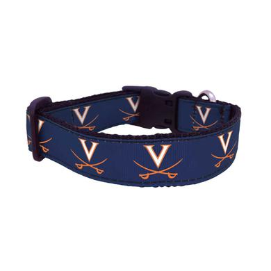 UVA Athletics University of Virginia Cavaliers Dog Collar