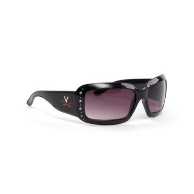 UVA Athletics University of Virginia Ladies Square Frame Sunglasses