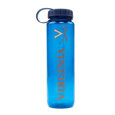 UVA Athletics University Of Virginia Plastic Water Bottle (33 Oz)