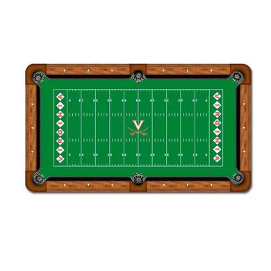 UVA Billiard Table Felt Football Field