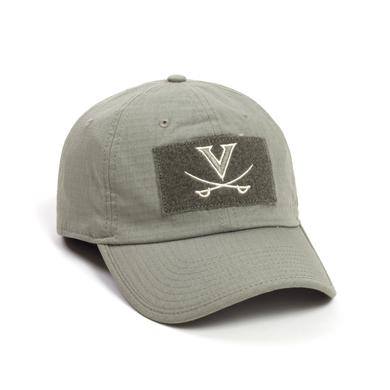 UVA Athletics University of Virginia USA Flag Tactical Hat