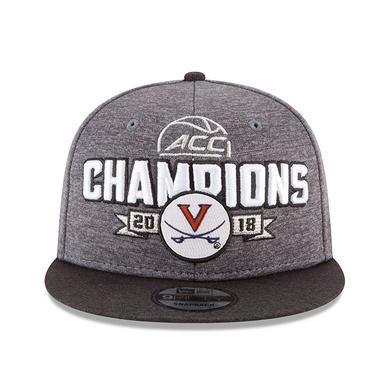 UVA Athletics University of Virginia 2018 ACC Champs Locker Room Hat