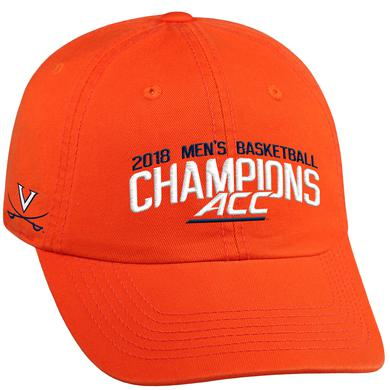 UVA Athletics University of Virginia 2018 ACC Champions Hat