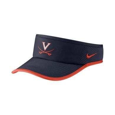 UVA Athletics University of Virginia Featherlight NIKE Adjustable Visor