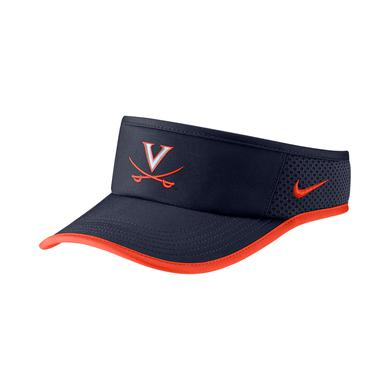 UVA Athletics University of Virginia Nike Featherlight Dri-FIT Visor