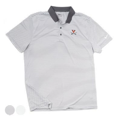 UVA Athletics University of Virginia Victory Mini Stripe Polo