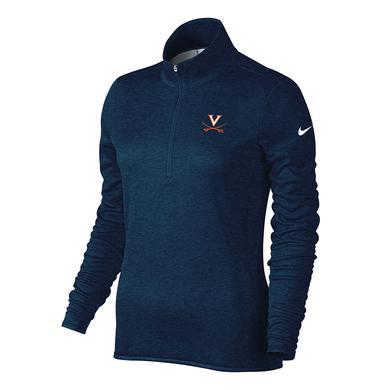 UVA Athletics University of Virginia Ladies Lucky Azalea Half-Zip Top