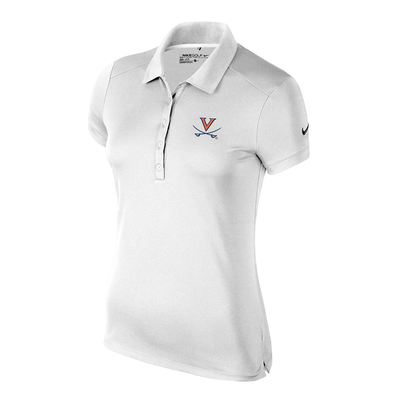 b9ff8ded UVA Athletics University of Virginia Ladies Victory Solid Polo