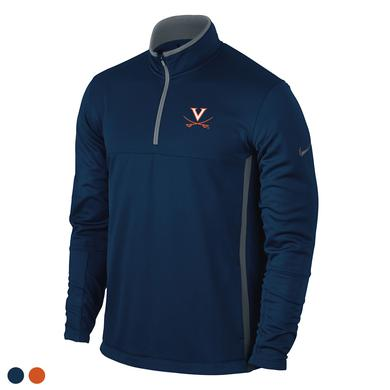 UVA Athletics University of Virginia Therma-Fit Half-Zip Cover-Up