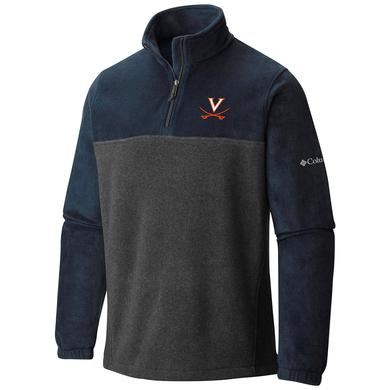 UVA Athletics University of Virginia Columbia Half-Zip Flanker Fleece