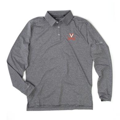 UVA Athletics University of Virginia Columbia Omni-Wick Pin High Polo