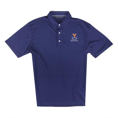 UVA Athletics University of Virginia 2018 ACC Champions Pique Polo