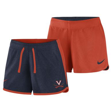 UVA Athletics University of Virginia Reversible NIKE Ladies Shorts