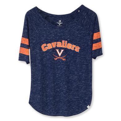 UVA Cavaliers Womens Bean Babbitt Raglan T-shirt