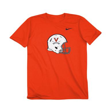 UVA Athletics University of Virginia Football Helmet Youth T-shirt