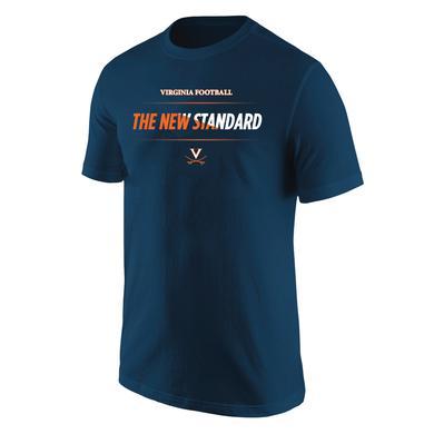 UVA Athletics University of Virginia Football The New Standard Bar T-shirt