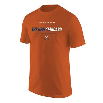 UVA Athletics University of Virginia Football The New Standard Bar T-shirt