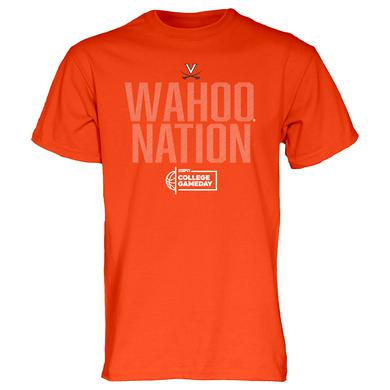 UVA Athletics University of Virginia College Gameday Wahoo Nation T-shirt