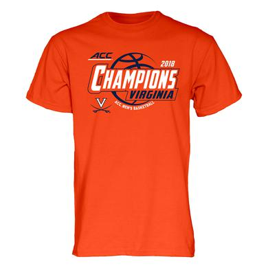 UVA Athletics University of Virginia 2018 ACC Champions T-shirt
