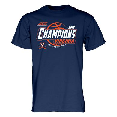 UVA Athletics University of Virginia 2018 ACC Champions Youth T-shirt