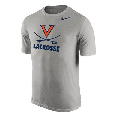 UVA Athletics University of Virginia Lacrosse NIKE Dri-Fit T-shirt