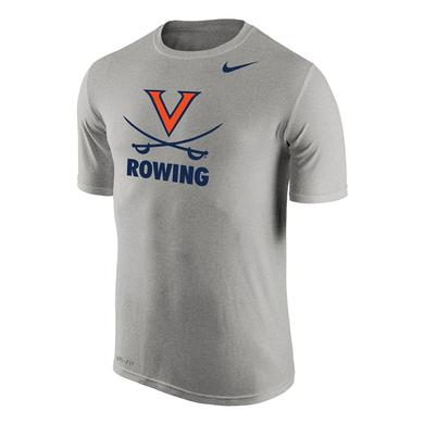 UVA Athletics University of Virginia Rowing NIKE Dri-Fit T-shirt