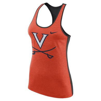 UVA Athletics University of Virginia V-sabre Ladies Dri-Fit NIKE Tank