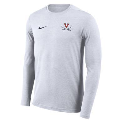 UVA Athletics University of Virginia Coach NIKE LS T-shirt