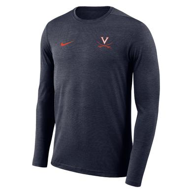 UVA Athletics University of Virginia Coach NIKE LS T-shirt