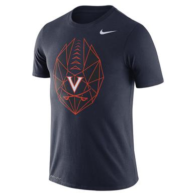 UVA Athletics University of Virginia Football Icon NIKE T-shirt