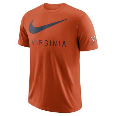 UVA Athletics University of Virginia Oversize Logo NIKE T-shirt