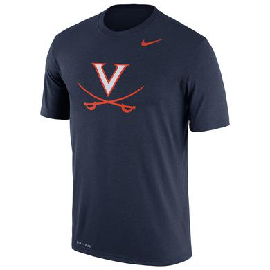 UVA Athletics University of Virginia 2018 Nike Navy Dri-FIT T-shirt