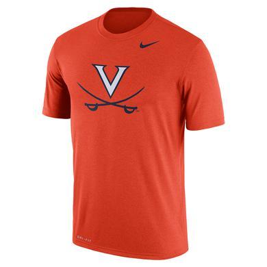 UVA Athletics University of Virginia 2018 Nike Orange Dri-FIT T-shirt