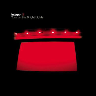 Interpol Turn On The Bright Lights CD